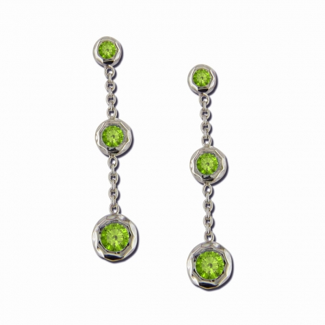 Sahara Drop with Peridot