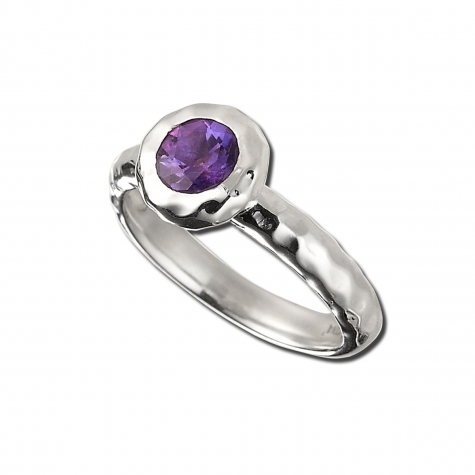 Sahara Ring with Amethyst