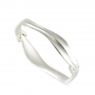 Hinged Leaf Bangle