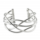 Criss Cross Wire Bangle