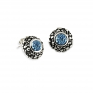 Rain Earring with Blue Topaz