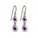 Sahara Drop with Amethyst