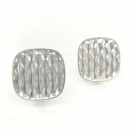 Square Desert Wave Earring