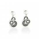 Spiralz Drop Earring
