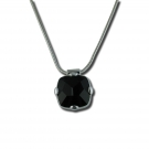 Faceted Onyx Pendant