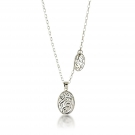 Pendant (Lace Swirl) .925 Sterling Silver