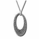 Stingray Open Oval Pendant