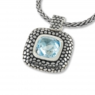 Stingray Enhancer with Blue Topaz