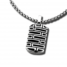 Finestra Dogtag Pendant