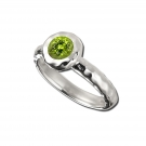 Sahara Ring with Peridot